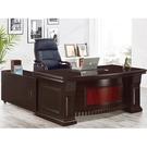 書桌 電腦桌 PK-651-1 胡桃6尺L型辦公桌 (不含其它產品)  【大眾家居舘】