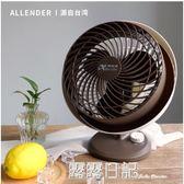 阿藍德渦輪空氣對流循環扇電風扇台式迷你家用辦公室學生宿舍台扇 igo 露露日記