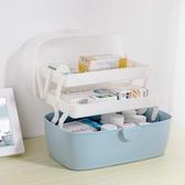 藥箱家用藥箱藥物品收納盒兒童家庭裝大小號便攜出診急救療箱 時尚芭莎