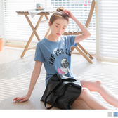 《AB3322》台灣製造.巴哥犬單字燙印休閒棉質T恤 OrangeBear