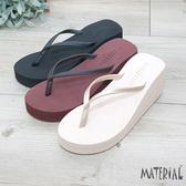 拖鞋 夏季防滑厚底拖鞋 MA女鞋 C3010