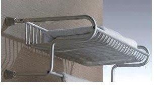 COCA 固佳 太空鋁加長置物架 網籃 浴巾架
