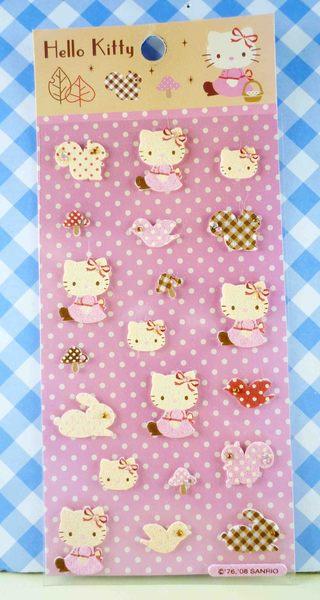 【震撼精品百貨】Hello Kitty 凱蒂貓~KITTY立體貼紙-秋葉原