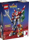 【LEGO樂高】Voltron 百獸王 五獅合體 聖戰士 #21311