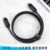 【妃航】Mcdodo CA-718 2米 HDMI 2.0/高畫質/4K 編織/鍍金 電視/連接線 投影機/遊戲機