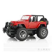 模型汽車 男孩大號仿真慣性越野車玩具耐摔兒童音樂玩具吉普車汽車模型 XY7602【男人與流行】TW