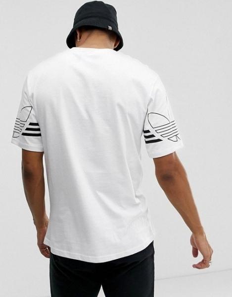 愛迪達 ADIDAS 三葉草 短袖T桖 新款男女運動上衣 五分袖半袖 情侶裝寬鬆打底圓領/澤米