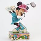 Enesco Disney 迪士尼 米妮高爾夫塑像_EN64156