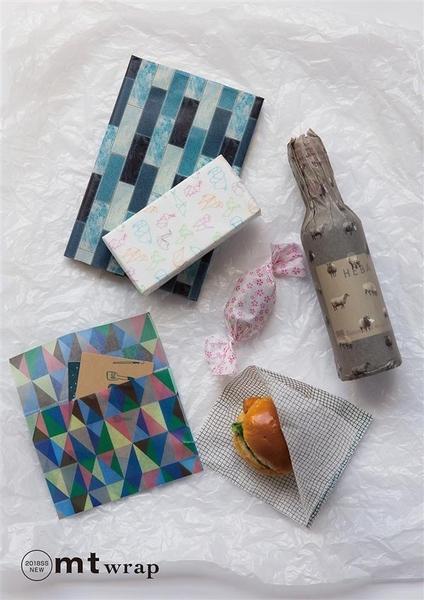 mt WRAP(標準尺寸) ・折り紙 摺紙 mt和紙膠帶【KAMOI mt】