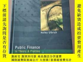 二手書博民逛書店Public罕見Finance in Theory and Practice (16開精裝英文原版)Y5375