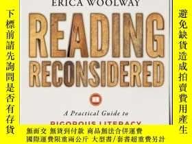 二手書博民逛書店Reading罕見Reconsidered: A Practical Guide to Rigorous Lite
