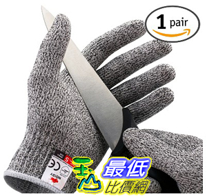 [美國直購] NoCry 露營 DIY 下廚防切手套 Cut Resistant Gloves - High Performance Level 5 Protection _s1