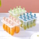 2個裝 家用自制雪糕冰淇淋模具迷你宿舍制冰器冰棒冰棍模型【白嶼家居】