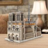 【LED版】3D立体拼图成年大型拼装古建筑模型礼物玩具【聚寶屋】