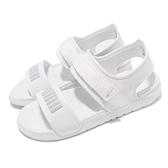 Puma 涼鞋 Softride Sandal 全白 白 灰 輕便舒適 男鞋 女鞋 夏日【ACS】 37510403