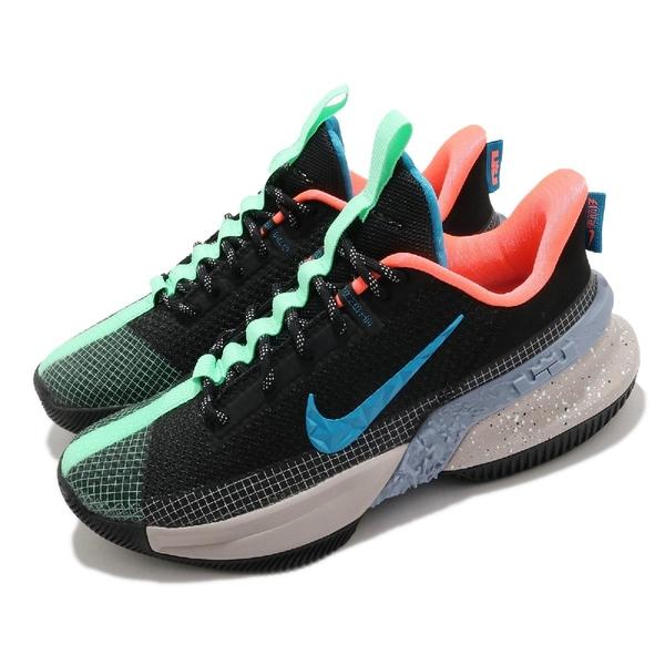 Nike 籃球鞋 LeBron Ambassador XIII 男鞋 黑 綠 大使 運動鞋 【ACS】 CQ9329-004