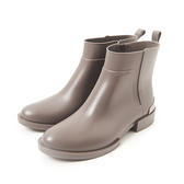 Petite Jolie  簡約時尚金屬短靴-暖灰色