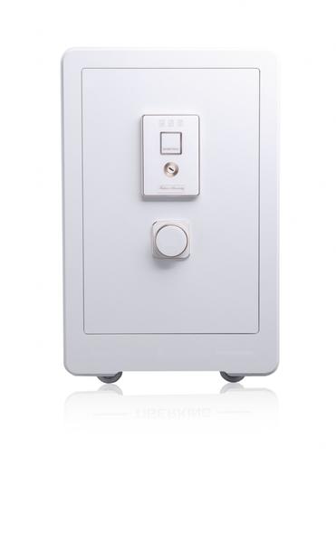 聚富 吉祥時尚系列指紋保險箱(65MWC)白