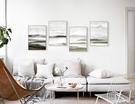 現代抽象客廳裝飾畫三聯畫沙發背景簡約玄關畫豎版酒店 YTL