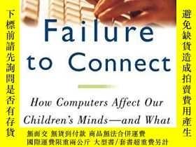 二手書博民逛書店Failure罕見To ConnectY256260 Healy, Jane M. Simon & S