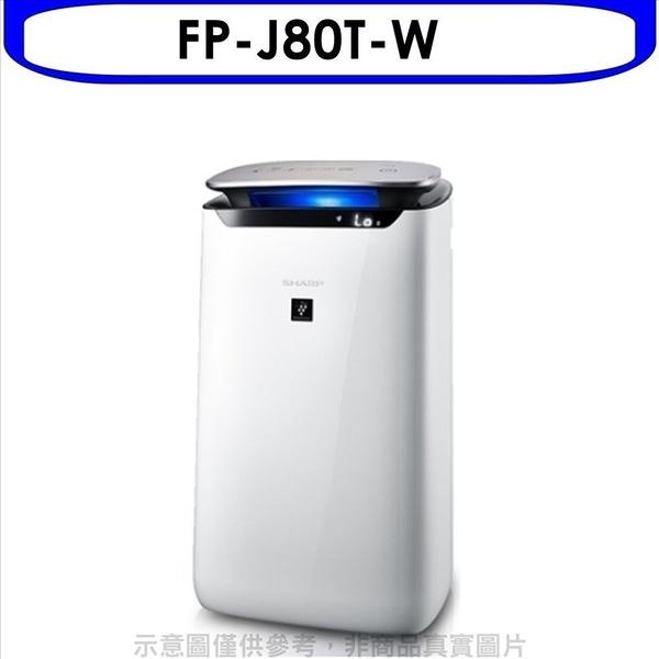 回函贈夏普【FP-J80T-W】空氣清淨機 優質家電