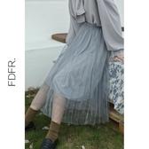 特賣蓬蓬裙粉蝶夫人 甜美感仙女の紗裙~ UP搭配神器!百褶蓬蓬網紗 半身裙G4