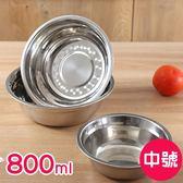 廚房用品 簡約風不鏽鋼多功能料理盆-中號-800ml 【KHS020】收納女王