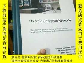 二手書博民逛書店IPv6罕見for Enterprise NetworksY15