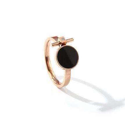 戒指 冷淡風食指戒指女ins潮時尚復古個性歐美大氣小眾設計指環潮人
