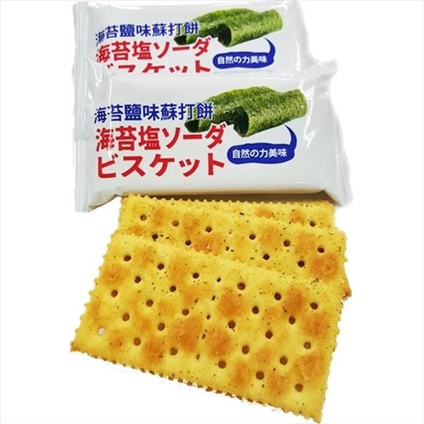 味覺百撰海苔鹽味蘇打餅 600g【2019040931004】(馬來西亞零食)