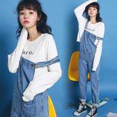 ulzzang學生bf寬鬆chic潮時尚減齡長褲