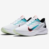 NIKE ZOOM WINFLO 7 男鞋 慢跑 馬拉松 氣墊 緩震 白【運動世界】CJ0291-100
