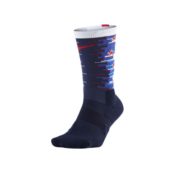 NIKE 男籃球長襪 (長筒襪 訓練 美國獨立紀念款 免運 ≡排汗專家≡