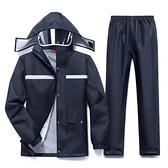 雨衣 雨衣雨褲套裝男性分體長款全身電動車加厚騎行防水防暴雨雨服【快速出貨】
