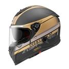 【東門城】ASTONE GTB800 AO10 (平黑金) 全罩式安全帽 雙鏡片