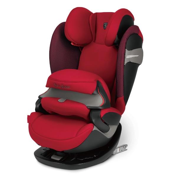Cybex Pallas S-FIX 安全座椅/汽座-法拉利限定款(紅/黑)【總代理公司貨】
