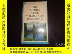 二手書博民逛書店THE罕見STERRA CLUB WILDERNESS HAND