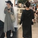 原宿風素面休閒裙M-2XL中長款中大尺碼小香風連身裙洋裝4F069.1855依品國際