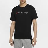 NIKE 短袖 短T SPORTWEAR 黑 標語 運動 上衣 男 (布魯克林) CT6877-010