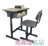 學習桌椅 廠家直銷中小學生寫字桌家用單雙人學校培訓輔導班學習課桌椅套裝 愛麗絲LX