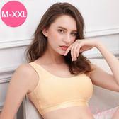 (M-XXL)時尚運動細緻蜂巢無痕透氣背心式內衣_膚色【Daima黛瑪】7979