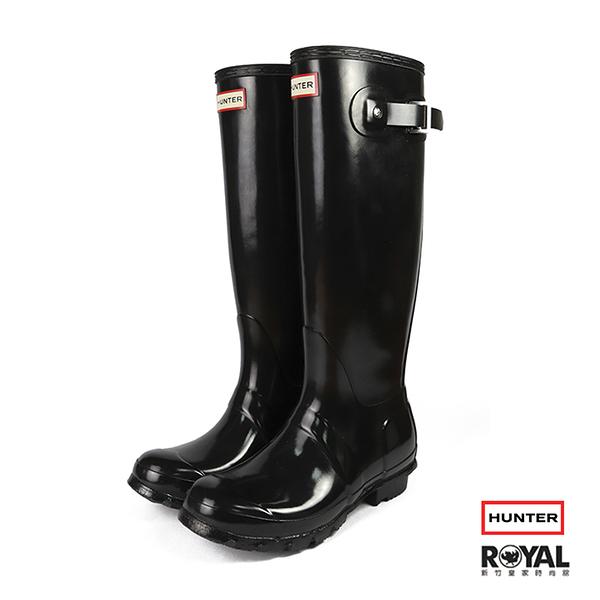 【零碼出清】Hunter Boots 黑色 亮面 雨靴 女款 NO.I2342