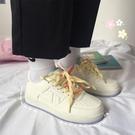 少女風板鞋百搭原宿運動鞋女學生休閒小白鞋春季新款 淇朵市集
