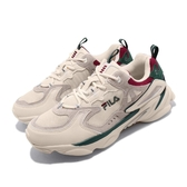 Fila 老爹鞋 Skipper 米色 綠 紅 男鞋 女鞋 韓版 運動鞋 【PUMP306】 4J528T736