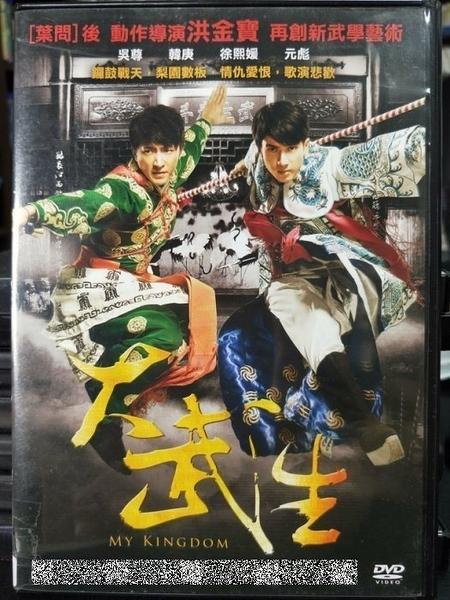 挖寶二手片-H04-048-正版DVD-華語【大武生】-吳尊 韓庚 徐熙媛(直購價)