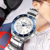 SEIKO 精工 / 4R36-11H0S.SRPG47K1 / 限量款 140週年紀念 5 Sports 機械錶 星期日期 不鏽鋼手錶 銀白色 43mm