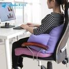 靠枕辦公室神器座椅護腰靠墊辦公椅沙發腰靠腰枕椅子靠背墊抱枕 【全館免運】
