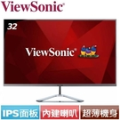 ViewSonic優派 32型 VX32...