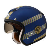 ZEUS 瑞獅安全帽,內藏式墨片,ZS-381C,K38/消光寶藍