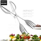 INPHIC-燒烤夾牛排夾不鏽鋼麵包夾防滑食物夾自助餐夾_yAIn